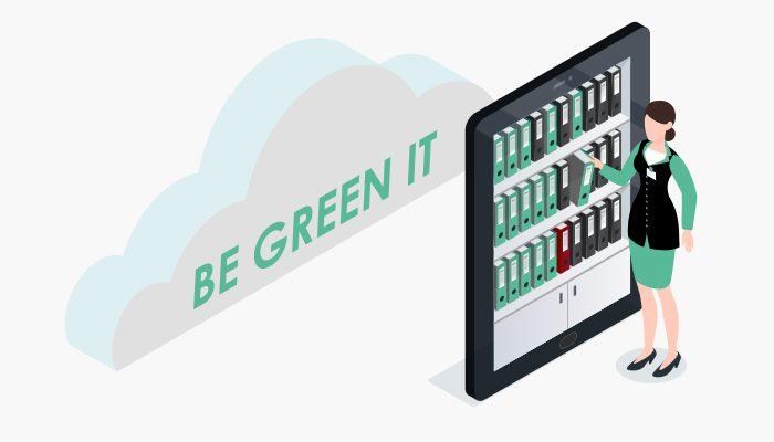 Be green it : solutions de dématérialisation des processus documentaires