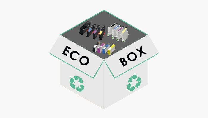 Ecobox : Recycler vos consommables n'aura jamais été aussi simple !