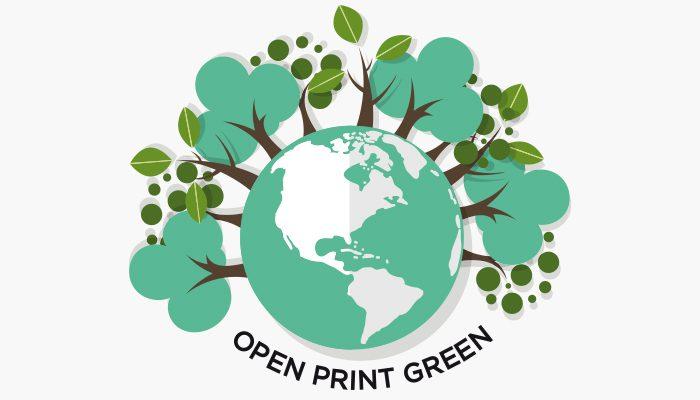Open Print Green