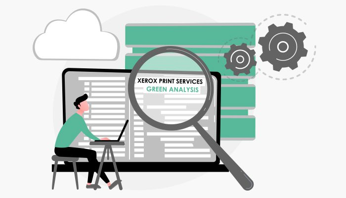 Xerox Print Services : Un service visant à réduire vos coûts d'impression, votre impact environnemental, et augmenter votre productivité.